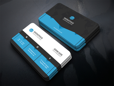 web business card